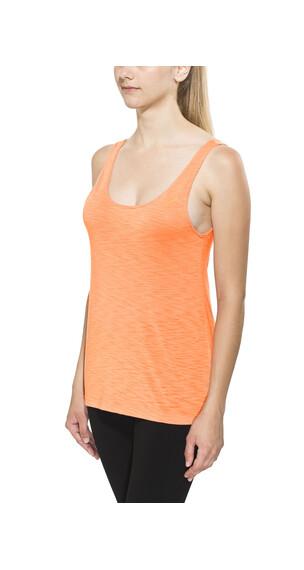 asics Loose - Camiseta Running Mujer - naranja